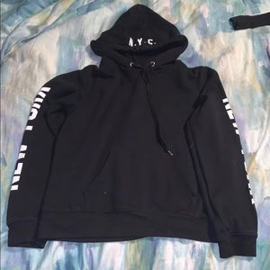 NYC forever 21 hoodie small